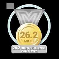 26.2 Mile Challenge Achieved