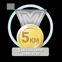 5KM Challenge Acheived